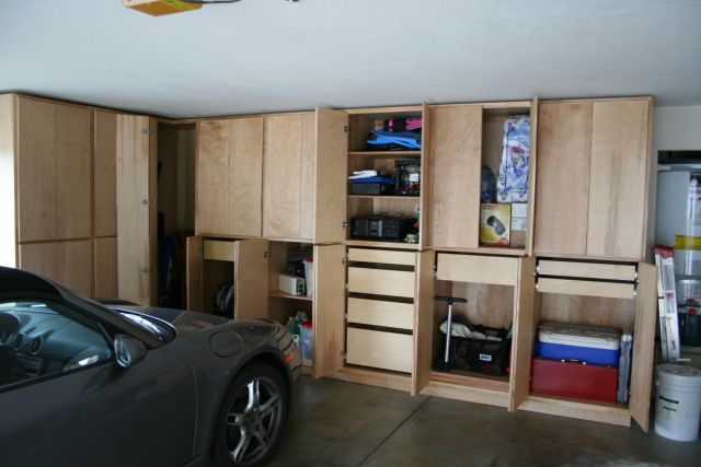 plans for garage cabinets